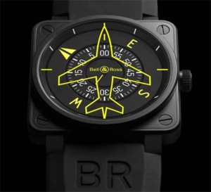 BR01-92 Flight Compass : Bell & Ross garde le cap