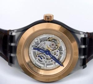 « Diaphane One Turning Gold » : Swatch se lance dans l'univers des montres de luxe