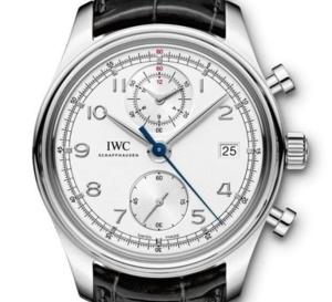 IWC Portugaise chronographe classique : une icône revisitée…