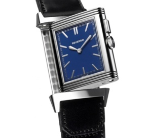 Grande Reverso Ultra Thin Duoface Blue : blue note