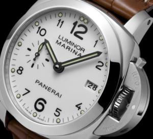 Officine Panerai Luminor Marina 1950 3 Days Automatic : une version en 42 mm cadran blanc
