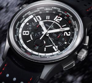 Jaeger-LeCoultre et Aston Martin : AMVOX5 World Chronograph Cermet
