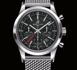 Breitling Transocean Chronograph GMT : montre nomade