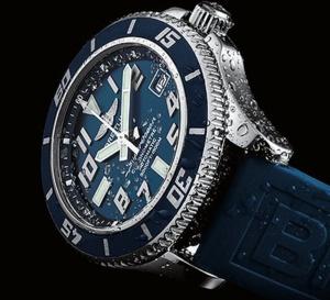 Breitling SuperOcean 42 : le grand bleu