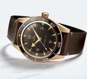 """Omega Seamaster 300 """"Bronze Gold"""" : de bronze et d'or"""