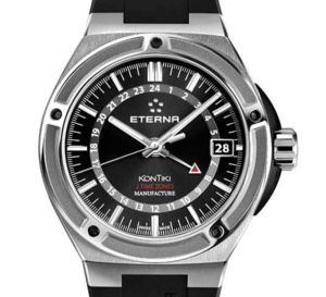 Eterna Royal KonTiki Two Time Zones : le voyage continue