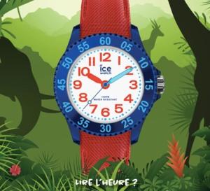 Ice Cartoon d'Ice-Watch : la montre pour apprendre à lire l'heure aux enfants