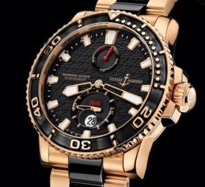 Ulysse Nardin Maxi Marine Diver : luxueuse plongeuse