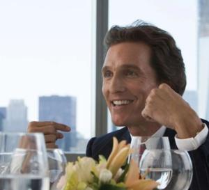 Le Loup de Wall Street : Matthew McConaughey porte une Rolex Datejust en or et acier