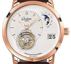 Glashütte Original PanoLunar Tourbillon : sophistication et technicité