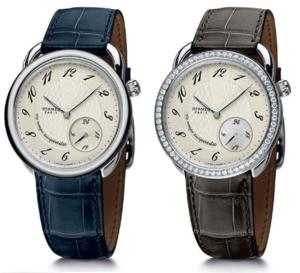 Hermès Arceau Le temps suspendu : deux nouvelles versions en acier pour jouer avec le temps