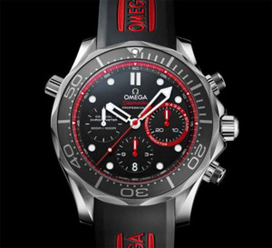 Omega Seamaster Diver ETNZ Limited Edition : l'America's Cup pour objectif