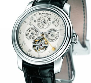 Blancpain crée la première montre-bracelet à « Equation Marchante » : une première mondiale