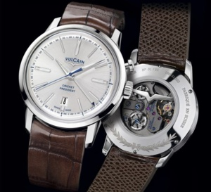 Vulcain 50s Presidents' Watch « Edition France » : French touch