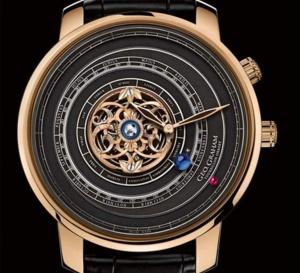Graham Tourbillon Orrery 1713-2013 : 20 montres pour célébrer les 300 ans de l'Orrery