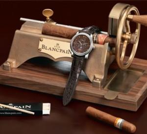 Brassus Quantième perpétuel GMT de chez Blancpain
