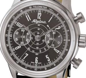 Alpina 130 : un chrono bicompax pour les cent ans de la marque