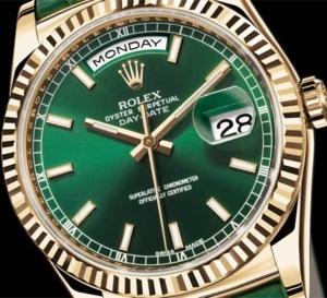 Rolex Oyster Perpetual Day-Date : une montre haute en couleurs