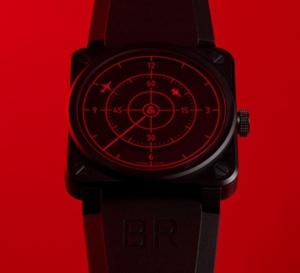 Bell & Ross BR 03 Red Radar Ceramic : l'heure vue d'avion