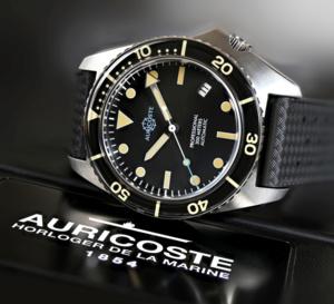 Auricoste Scuba-Master 300 : digne héritière de la montre de plongée Spirotechnique