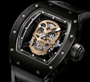 Richard Mille Tourbillon RM 52-01 Skull Nano-Ceramique : anticonformiste