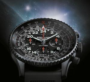 Breitling Navitimer Cosmonaute Blacksteel : 1000 exemplaires