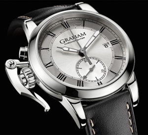 Graham London : Chronofighter 1695 Tribute to George