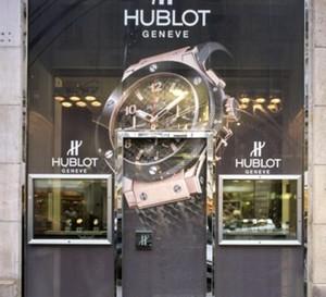 Hublot ouvre une première boutique exclusive à Paris