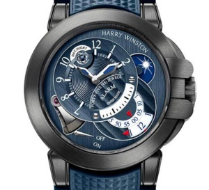 Harry Winston Project Z6 Blue Edition : montre sport résolument haut de gamme