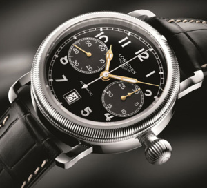 The Longines Avigation Oversize Crown : inspiration années 20