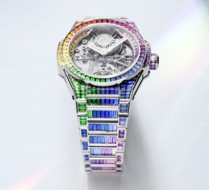 Hublot Big Bang Integral Tourbillon Rainbow : en démesure !