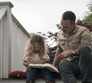 The Walking Dead : Andrew Lincoln porte une montre Kenneth Cole