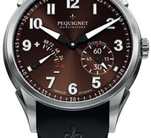 Pequignet Royale Titane : « french touch » pour la montre de pilote