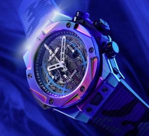 Hublot Big Bang DJ Snake : chrono irisé