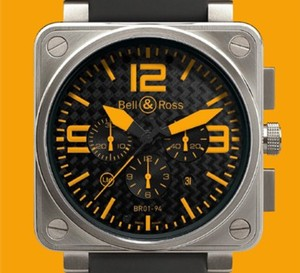 Instrument BR 01-94 Titanium Orange de Bell & Ross