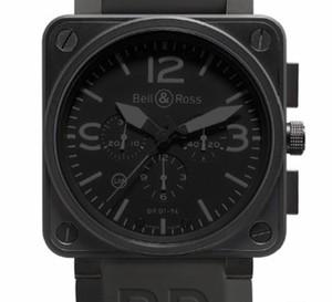 Instrument BR 01 Phantom de Bell & Ross… une montre qui s'inspire des avions furtifs