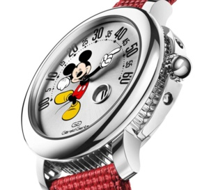 Gerald Genta Arena Retrograde Mickey Mouse : le retour
