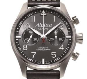 Alpina Startimer Pilot Chronographe Sunray : en pilotage automatique…