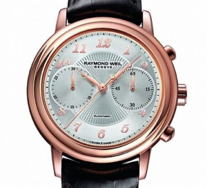 Raymond Weil Chrono Maestro : un nouveau chronographe chic et discret