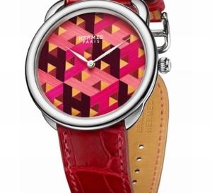 Hermès Arceau H Cube : la paille toujours en vedette…