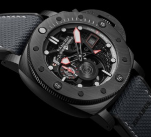 Panerai Submersible S Brabus Black Ops Edition : show-off