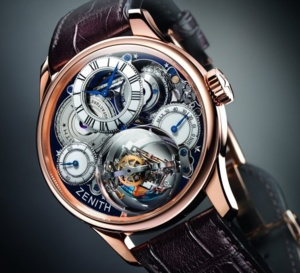 Zenith Academy Christophe Colomb Hurricane Grand Voyage : montre de collectionneur
