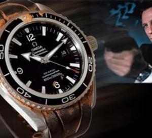 L'Omega Seamaster de James Bond (Daniel Craig) sera prochainement vendue aux enchères