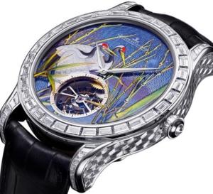 Jaeger-LeCoultre Master Grand Tourbillon Enamel : doublement exceptionnelle !
