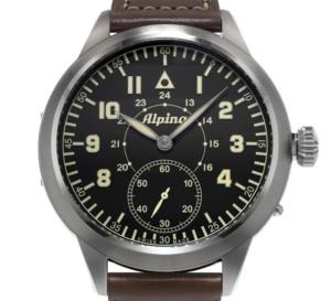 Alpina Heritage Pilot : montre de pilote au design résolument vintage