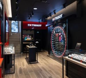 Tissot : sa boutique des Champs-Elysées à Paris fait peau neuve