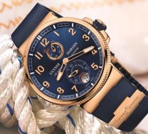 Ulysse Nardin Marine Chronometer Manufacture : chic et sportif