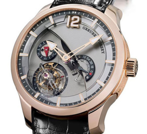 Greubel Forsey Tourbillon 24 Secondes Contemporain : calibre titane