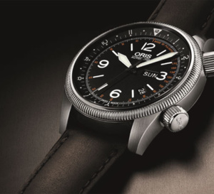 Oris Royal Flying Doctor Service : échelle pulsométrique doublée de la fonction GMT