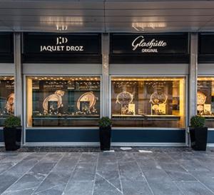 Glashütte Original et Jaquet Droz : au sein d'une seule et même boutique à Genève